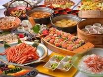 【和食バイキング】地元産の食材と手作りにこだわり、ひと味もふた味も違う、こだわりの和食バイキングです