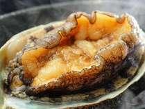 【ハイグレード和洋折衷コース】ハイグレードのコース料理には、活きのいい新鮮な鮑の踊り焼きが付きます