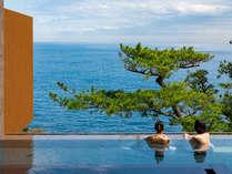 【2018年4月OPENスパリウムニシキ】湯船と海面が一体化するインフィニティデザインの絶景温泉