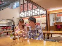 【2018年7月リニューアルにぎわい横丁】ラーメンや寿司屋など夜食処が集うお祭り広場