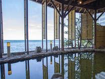 2018年秋オープン!海まで5mの絶景風呂。心地良い潮騒をBGMに極上のリラックスタイムをお愉しみください