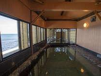 スパリウム波音(なみね)には露天風呂だけでなく内湯も併設