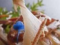 カニの殻に身がひっついてるのが活ガニの証拠です!