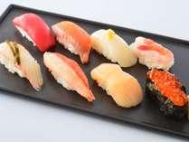 【ディナー】<本日のおすすめ寿司八貫>料理長厳選のネタで握られるお寿司をぜひ☆