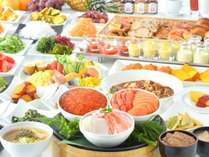 【朝食ビュッフェ】北海道産食材を豊富に取り入れた極上のブッフェで朝の時間を贅沢満喫☆