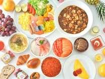 【朝食ブッフェ】北海道産食材を豊富に取り入れた極上のブッフェで朝の時間を贅沢満喫☆