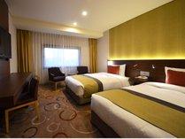本館12階ツインルーム(26平米 ベッド幅120cm)