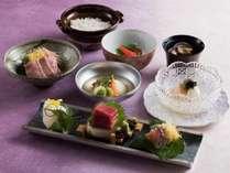 日本料理「平川」でお召し上がりいただく会席「平川」
