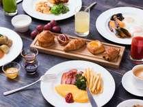 約60種の朝食ブッフェ イメージ(ダイニング・カフェ「ベルテンポ」)