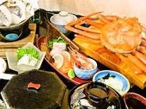 【2食付】豪華!ズワイガニ1匹付き!日本海御膳&朝食バイキング!平面無料駐車場完備!
