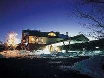 車山高原の閑静な佇まいで、降雪時にはとても幻想的!!