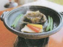 追加料理「あわびバター焼き」1200円※要事前注文