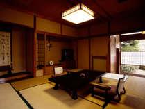 【平日限定】離れのお部屋が3300円引き!!★夕・朝は部屋食でのんびりと