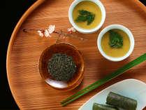 水明荘 凌ぎ(料理一例)