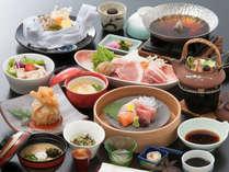 【夕食17:30~】★季節の味覚★【旬の季節会席】