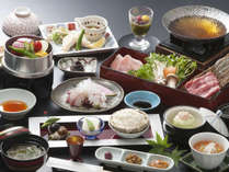 和食会席(料理は一例です。内容が変更になる場合がございます。)
