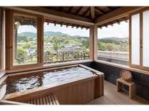 「塩原」温泉郷の露天風呂付客室