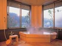 源泉かけ流し温泉貸切家族風呂『寿ぎの湯』45分1,000円