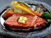 別注料理) 但馬牛ステーキ: 1人前 3,000円(税別)
