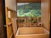 源泉かけ流し温泉露天風呂付客室:イメージ