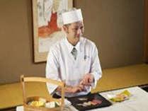 席前料理 握り寿司イメージ