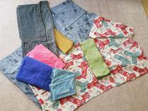 カップルプラン☆彡女性は色浴衣付きです。ご希望の方には着付けのお手伝いもいたします。