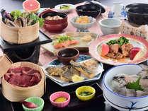 【竹コース】女将の有機栽培野菜と信州三大グルメ★ホテル白銀スタンダード会席の一例です