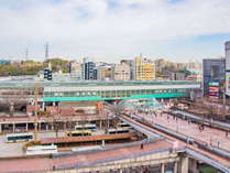 【多摩センター駅周辺】京王・小田急・多摩モノレールのほかに羽田・成田空港リムジンバスも利用OK
