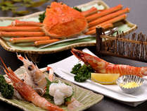 【料理】季節の海鮮料理(エビ・カニ),静岡県,やぎさわ荘