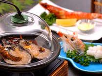 【料理】季節の海鮮料理(エビづくし),静岡県,やぎさわ荘