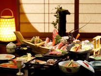 【料理】季節の一例,静岡県,やぎさわ荘