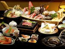 【料理】スタンダードプラン+アワビ陶板蒸し(舟盛の伊勢エビは付きません),静岡県,やぎさわ荘