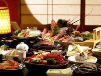 【料理】海鮮プラン≪ボイル伊勢エビ・サザエ壺焼き・アワビ陶板蒸し≫
