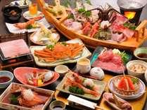 【料理】エビ・カニプラン(季節の一例),静岡県,やぎさわ荘