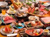 【料理】エビづくしプラン(季節の一例)