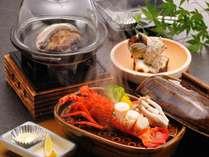 【料理】季節の海鮮料理(海鮮づくし),静岡県,やぎさわ荘