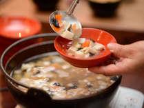 朝食バイキング 大好評!会津の郷土料理「こづゆ」