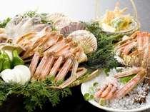 炉端炭火焼料理季魚菜プランの冬バージョン