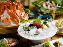 山陰の海幸が満載のお料理に大満足!