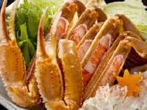 蟹すきはしゃぶしゃぶ風に食べてもGood!!