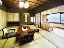 2部屋限定!最上階の露天風呂付き客室です。