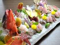 【地魚盛合せ】旬の地魚を盛り合わせでお楽しみください→地魚満足プランで予約