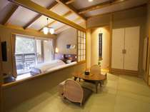 露天風呂付和洋室:木の蔵