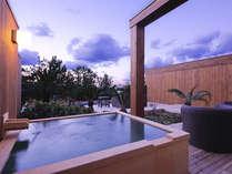 【特別フロア】 専有露天風呂付客室 TypeF (一例※客室により異なります)
