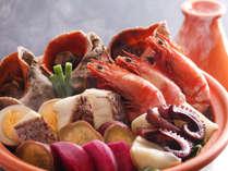 淡路島西浦の地魚や淡路牛の和風ステーキを味わう季節の味覚懐石・淡路野菜とともに(2食付)