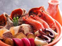 【早期予約で特典付】契約農家育ちの地野菜や漁港直送の魚介などを愉しむ季節の和会席(写真はイメージ)