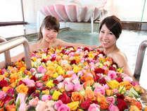 ☆女性限定!毎週土曜日実施のバラ風呂☆