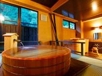 【風(ふう)の湯】湯船からの景色も格別
