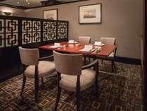 中国料理 梨杏 ホール席でもプライベートな空間を。