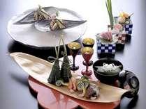 【錦会席イメージ】豪華食材を丹精込めて調理した最上級会席。